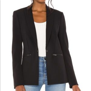 Veronica Beard Scuba Dickey Jacket Blazer